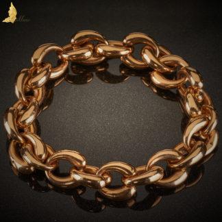 Złote oponki w typie Tiffany Polska złoto 18K