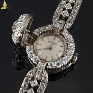 Vintage Diamentowy Damski Zegarek Movado 18K