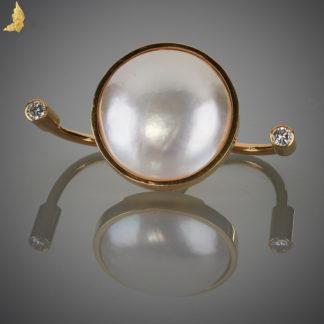 Autorski Design - pierścień duo - bardzo wygodna fantazja!