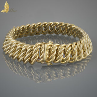 Bransoleta vintage w 14K żółtym złocie