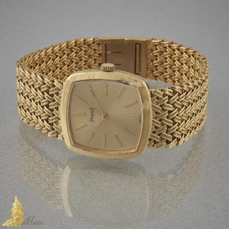 Damski zegarek szwajcarskiej marki Piaget, lata 60/70-te, 18K żółte złoto