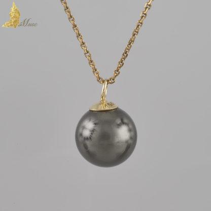 Zawieszka z czarną perłą Taihiti
